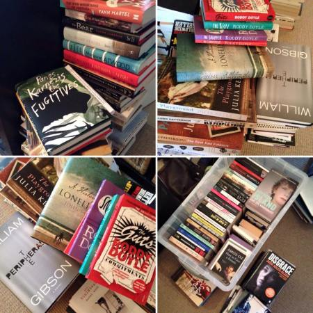 Sorting out my books