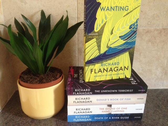 Complete set of Richard Flanagan's novels